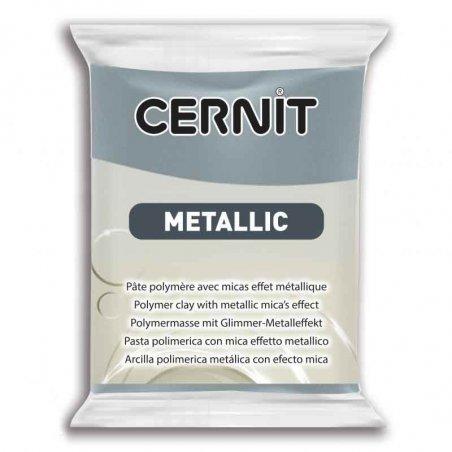 Полимерная глина CERNIT METALLIC, №167- сталь, 56 г