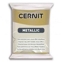 Полимерная глина CERNIT METALLIC, №055- античное золото, 56 г