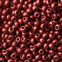 Бисер чешский PRECIOSA №213-10/0-13780- натуральный, темно-коричневый, 10 г
