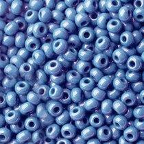 Бисер чешский PRECIOSA №589-10/0-38000- перламутровый, голубой, 10 г