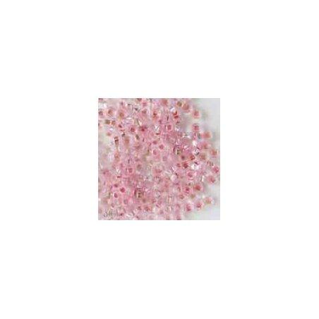 Бисер чешский PRECIOSA №456-10/0-18273- блестящий с квадратной серединкой, бледно-розовый, 10 г