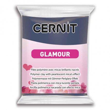 Полимерная глина Cernit Glamour, 56г, №246 - синий