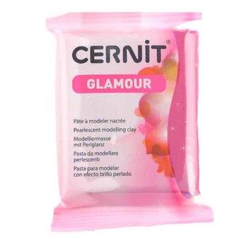 Полимерная глина Cernit Glamour, 56г, №420 - кармин
