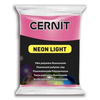 Полимерная глина Cernit Neon, 56г, №922 - розовый