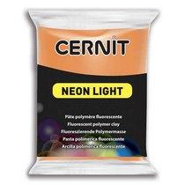 Полимерная глина Cernit Neon, 56г, №752 - оранжевый
