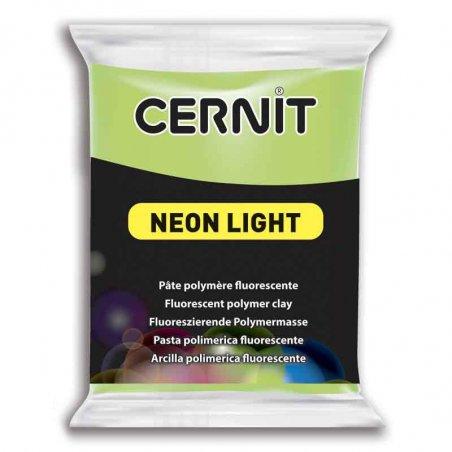 Полимерная глина Cernit Neon, 56г, №600 - зеленый