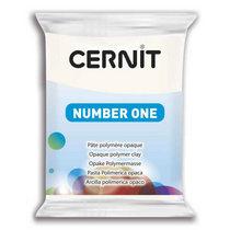 Полимерная глина CERNIT NUMBER ONE, №027 - белый укрывистый, 56 г