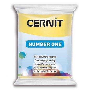 Полимерная глина CERNIT NUMBER ONE, 62Г желтый №700
