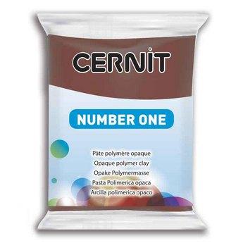 Полимерная глина CERNIT NUMBER ONE, №800 - коричневый, 56 г