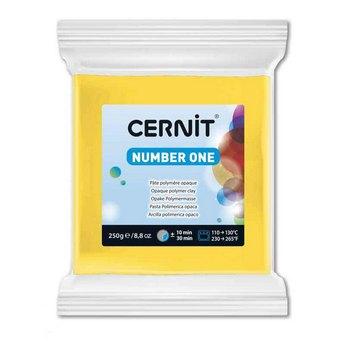 Полимерная глина CERNIT NUMBER ONE, 250 гр. желтый №700