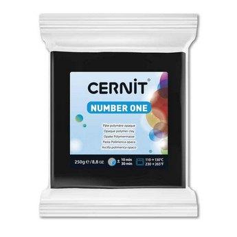 Полимерная глина CERNIT NUMBER ONE, 250г, № 100- черный
