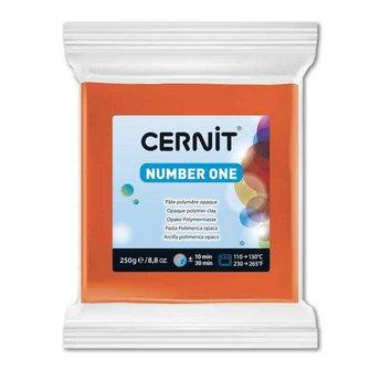 Полимерная глина CERNIT NUMBER ONE,  250 г. оранжевый №752