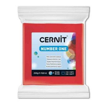 Полимерная глина CERNIT NUMBER ONE, 250г, №400 - ярко-красный