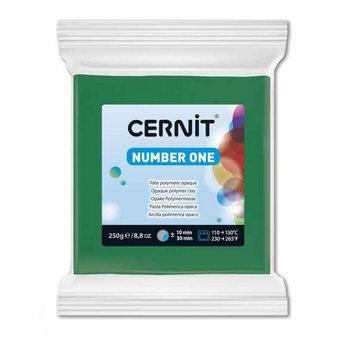 Полимерная глина CERNIT NUMBER ONE, 250 г,зеленый №600