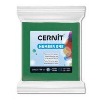 Полимерная глина CERNIT NUMBER ONE, №600- зеленый, 250г