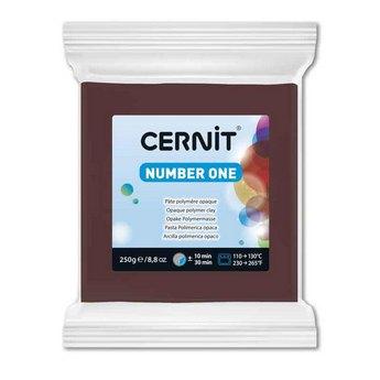 Полимерная глина CERNIT NUMBER ONE, 250г, №800 - коричневый