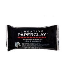 Масса для лепки Paperclay, 113 грамм