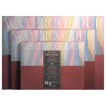Склейка-блок для акварели Watercolor, А-4, 200 г/м2, 20 листов, Fabriano