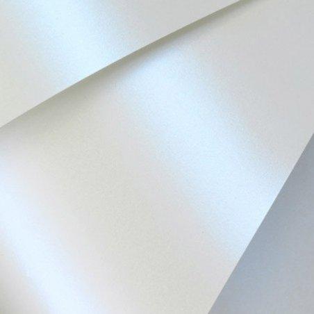 """Синтетическая двустороняя гладкая бумага для алкогольных чернил """"PEARL BLUE"""" В3, 226 г/м2"""