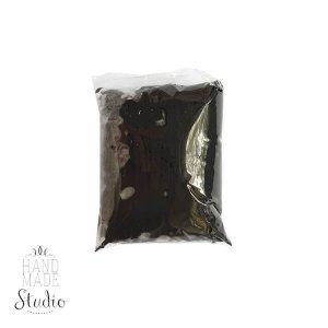 Прыгающая масса для лепки суперлегкая, цвет черный 15 г