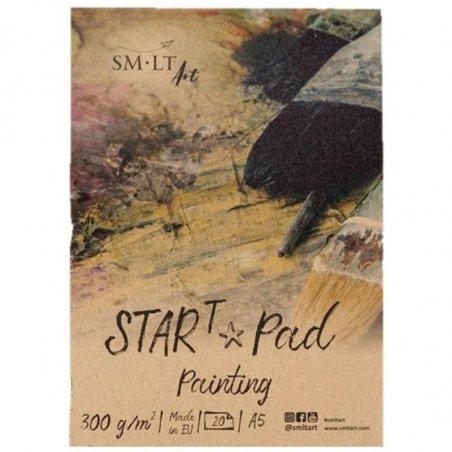 Склейка STAR T (mixed media) SMILTAINIS, А4, 300г/м2, 20л