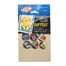Набор блоков для гравюры SOFTCUT ESSDEE, 3.0/SC2-2, 150х100х3 мм, 2 штуки
