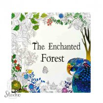 """Раскраска-антистресс """"The Enchanted Forest"""", В4,12 листов, 25х25 см"""