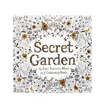 """Раскраска-антистресс """"Secret Garden"""", В4,12 листов, 25х25 см"""