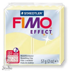 Полимерная глина Fimo Effect, №105, пастель ваниль, 57 г