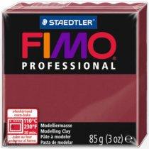 Полимерная глина Fimo Professional, 85 гр. №23, бордо