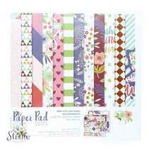 """Набор односторонней дизайнерской бумаги """"Sweet"""" 25,5х25,5 см, 24 листа+2 листа с высечками"""