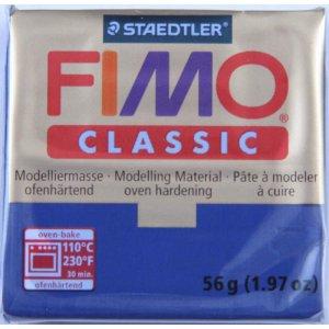 Полимерная глина Fimo Classic, 56г - №38, сине-зеленый