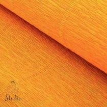 Креп-бумага (гофро-бумага) Cartotecnica Rossi,180г/м², 50смх2,5м, №610 Тыквенный