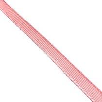 Репсовая лента 0,6 см, цвет - пудрово-розовый, 1м
