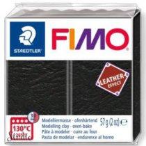 Полимерная глина Fimo LEATHER effect, 57 г, №909, черный