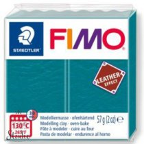 Полимерная глина Fimo LEATHER effect, 57 г, №369, голубая лагуна