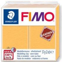 Полимерная глина Fimo LEATHER effect, 57 г, №109, желтый шафран