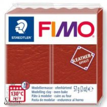 Полимерная глина Fimo LEATHER effect, 57 г, №749, ржавчина