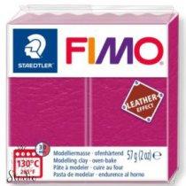 Полимерная глина Fimo LEATHER effect, 57 г, №229, ягодный
