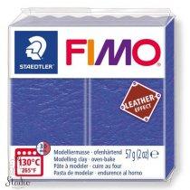 Полимерная глина Fimo LEATHER effect, 57 г, №309, индиго