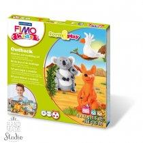 """Набор полимерной глины FIMO Kids Form & Play """"Австралия"""" 8034 23"""