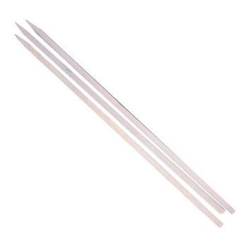 Бамбуковые плоские палочки (шпажки) 40 см, 3 штуки
