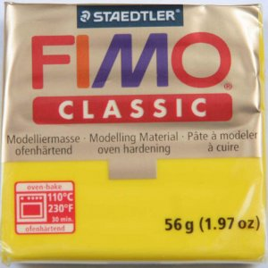 Полимерная глина Fimo Classic, 56г - №43, светло-телесный