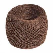 Пряжа из хлопка 14/2 №160 - цвет коричневый, 350м/50г