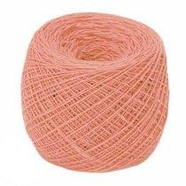 Пряжа из хлопка 14/2 №148 - цвет персиковый, 350м/50г