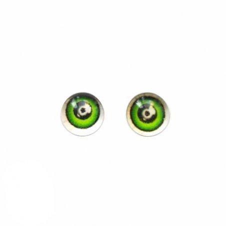 Глаза стеклянные для кукол №77303 (пара), 6 мм