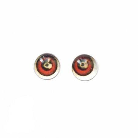 Глаза стеклянные для кукол №77305 (пара), 6 мм