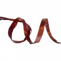 Рафия декоративная, цвет коричневый, 1 м