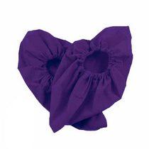 Бахилы многоразовые, цвет фиолетовый, размер 30-43
