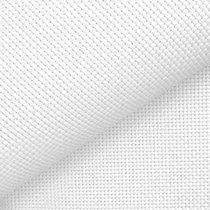 Канва для вышивки №14, 50х50 см, цвет белый, Китай